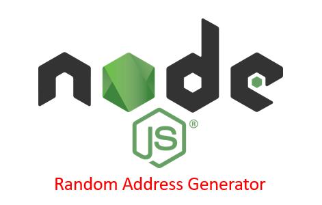 A Simple Node App to Generate Random Addresses and Geocode