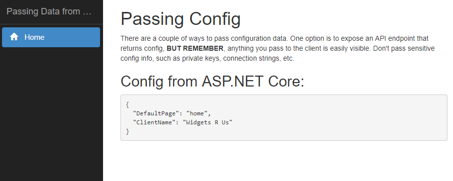 Passing Data from ASP NET Core to Angular – try-catch-FAIL